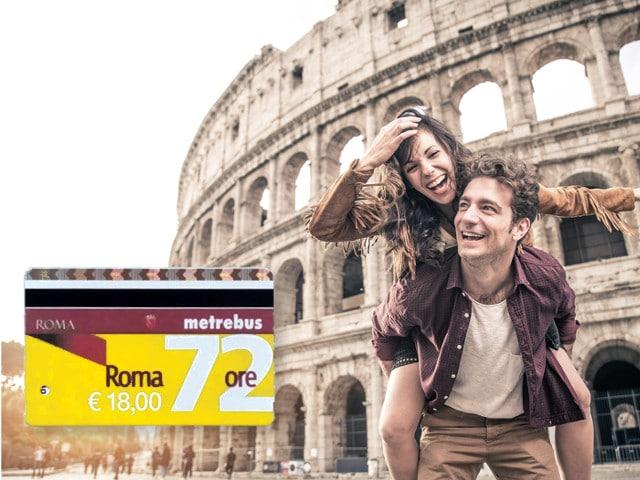 Öffentlciher Verkehr Rom Ticket 72 Stunden Ticket